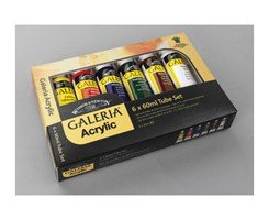 GALERIA ACRYLIC  6x60 ml set