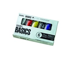 Basics Acryl set 6x22 ml