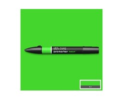 Neonmarker glowing green